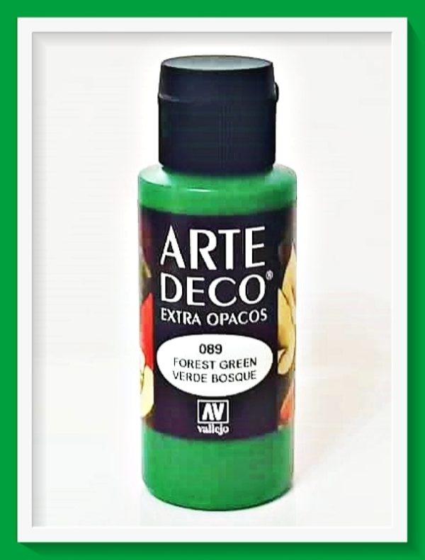 Vallejo Arte Deco Color Forest Green VAL85089 60ml