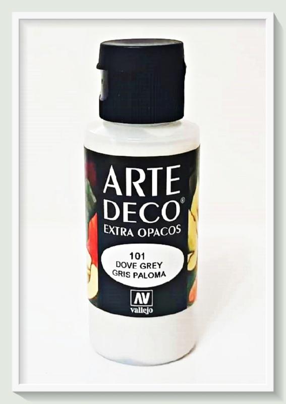 Vallejo Arte Deco Color Dove Grey VAL85101 60ml