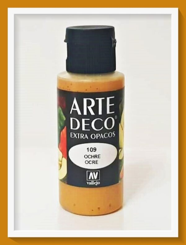 Vallejo Arte Deco Color Ochre VAL85109 60ml