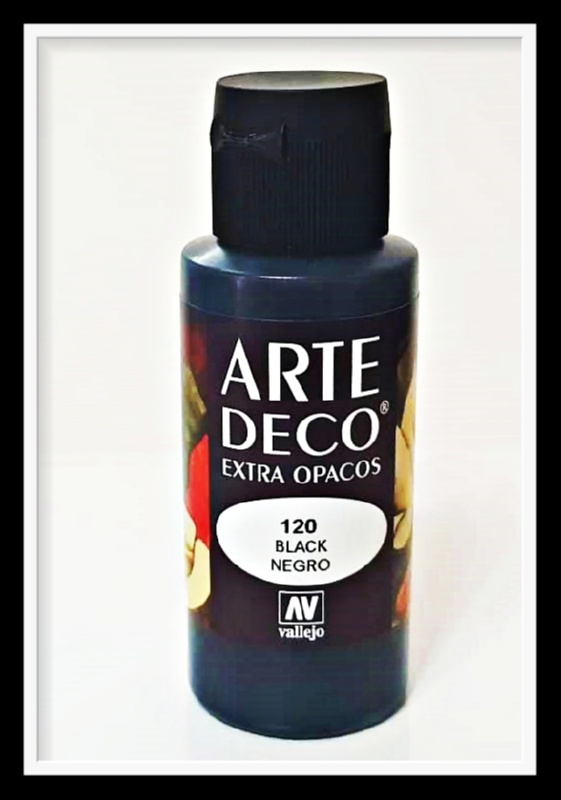 Vallejo Arte Deco Color Black VAL85120 60ml