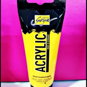 Solo Goya Acrylic D-0384103 Cadmium Yellow 100ml