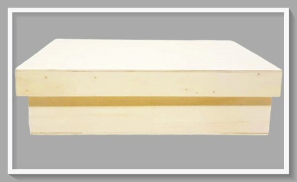Ξύλινο Κουτί Ορθογώνιο LG87487 33cmx24cmx10cm