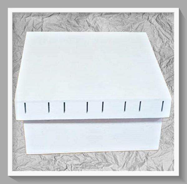 Ξύλινο Κουτί LG87563 20x20x9.5cm