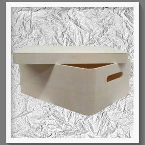 Ξύλινο κουτί Μεγάλο LG87725A 34x23x13cm