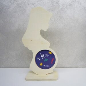 Ξύλινη Διακοσμητική Φωτογραφοθήκη LG87740  16cm x 8cm x 34cm