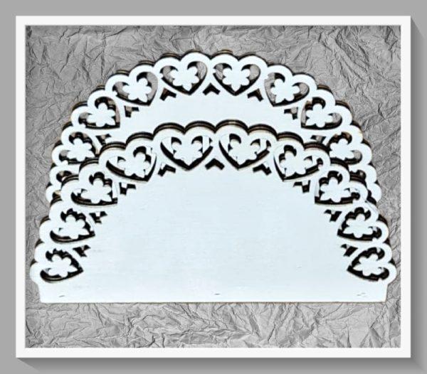 Ξύλινη Θήκη για Χαρτοπετσέτες LG87787 16.5x10x6cm