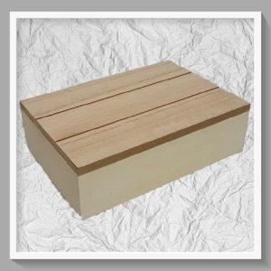 Ξύλινο Κουτί  LG87791 23x16x7cm