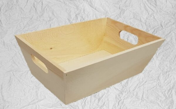 Ξύλινη Ψωμιέρα Σερβιρίσματος  LG87796 29x19x10cm