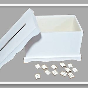 Κουτί Ευχών για γάμο LG87806 30.5x21.5x18cm