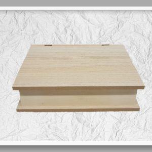Κουτί σε σχήμα βιβλίο LG87812   30x26.5x7.5cm