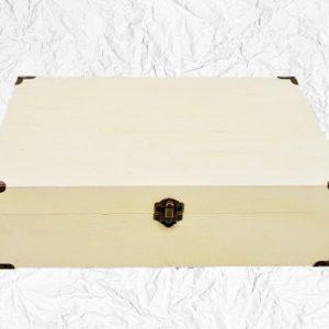 Ξύλινο Βαλιτσάκι LG87840 32.5x22x9.5cmLG87840