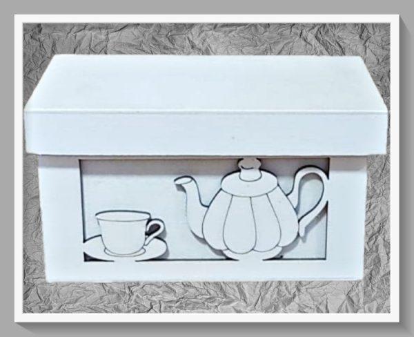 Ξύλινο Κουτί Τσαγιού LG87856 16x10x8.5cm