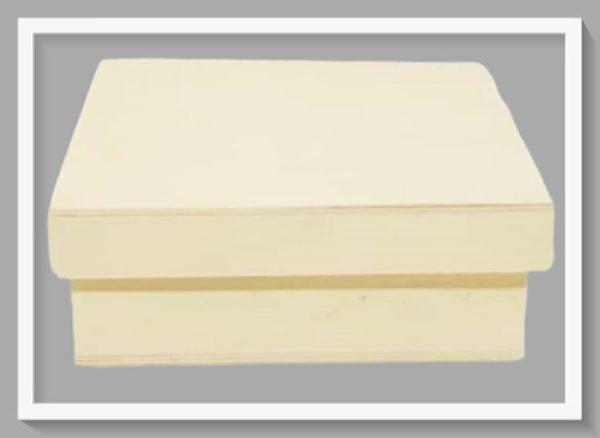 Ξύλινο Κουτί Τετράγωνο LG87865 11cmx11cmx4cm