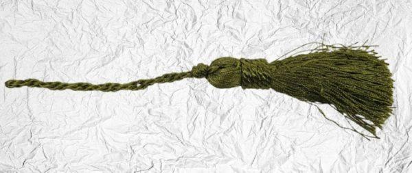Λαδί Διακοσμητική Φούντα Μικρή DF00469 20cm