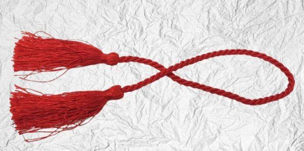 Κόκκινη Διακοσμητική Φούντα Μεγάλη DF00473 51cm