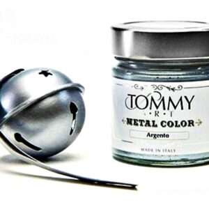 CHALK BASED MT140020 ACRYLIC PAINT 140ML METAL SILVER