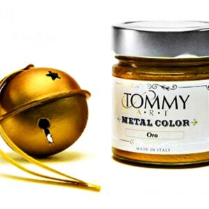 CHALK BASED MT140030 ACRYLIC PAINT 140ML METAL GOLD