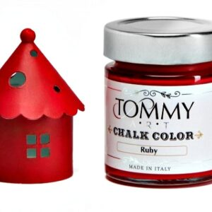 CHALK BASED SH140450 ACRYLIC PAINT 140ML RUBY