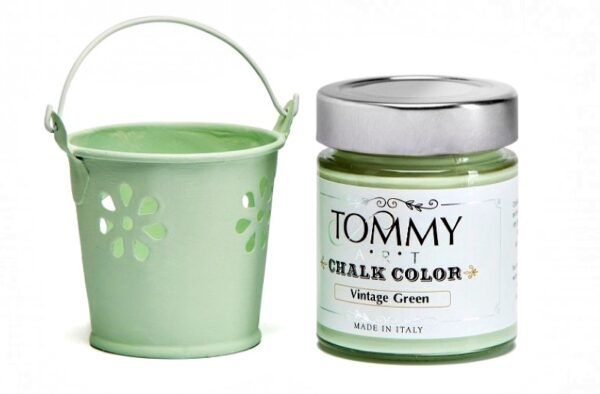 CHALK BASED SH140720 ACRYLIC PAINT 140ML VINTAGE GREEN