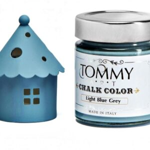 CHALK BASED SH140920 ACRYLIC PAINT 140ML LIGHT BLUE GREY