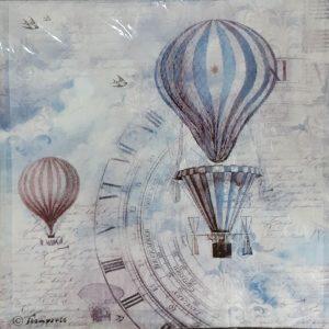 Ριζόχαρτο Χαρτοπετσέτας DFT259 Αερόστατα
