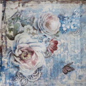 Ριζόχαρτο Χαρτοπετσέτας DFT320 Λουλούδια