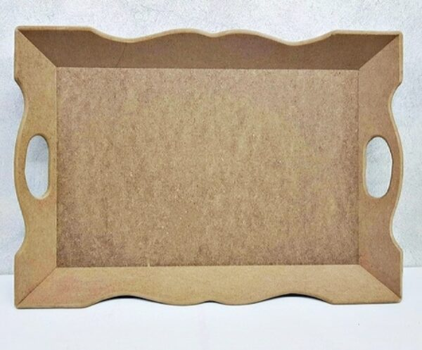 Ξύλινος Δίσκος Σερβιρίσματος DF00005 45x31cm