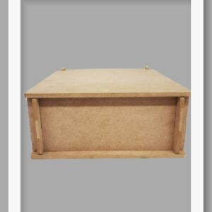 Ξύλινο Κουτί με χώρισμα DF00218   23x17x8cm