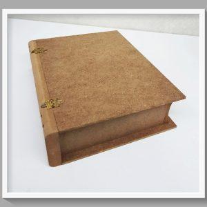 Κουτί σε σχήμα βιβλίο μεγάλο DF00254   25x20x6.5cm