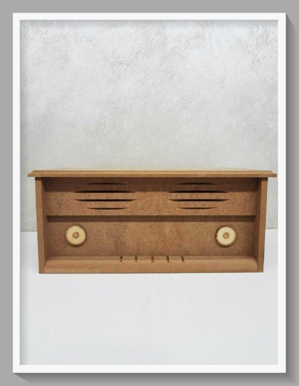 Ξύλινο κουτί ραδιόφωνο DF00300   32x16x14cm