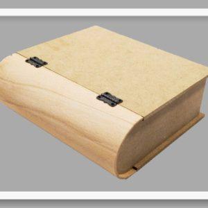Κουτί σε σχήμα βιβλίο μεγάλο DF003014 32cmx26.5cmx8.5cm
