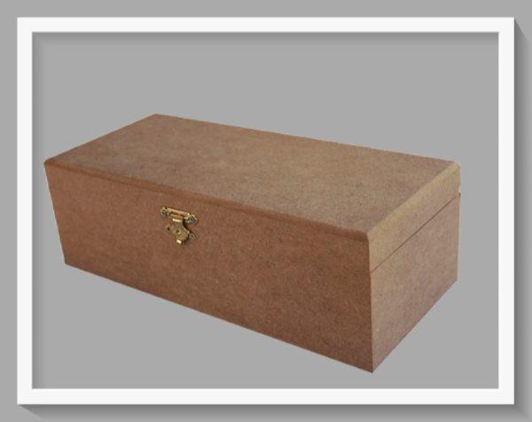 Ξύλινο κουτί μεγάλο DF003016 36x18x14cm