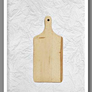 Ξύλο Κοπής Mικρό DF003019 26cmx11cm