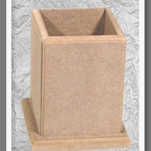 Ξύλινη Μολυβοθήκη DF003020 10cmx10cm