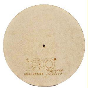 Πάνελ Ρολόι Decofoam αχάρακτο στρογγυλό DF003031 40cmx40cm