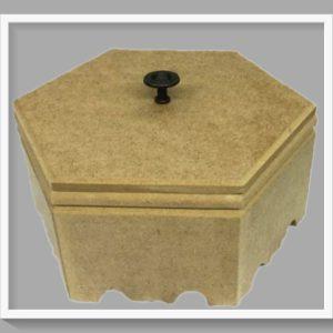 Ξύλινο κουτί  STEKT-44  20x20x10cm
