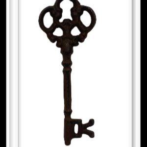 Μεταλλικό Διακοσμητικό Κλειδί Μικρό DF00322 15cmx6cm