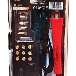 Πυρογράφος DF00344 με Βάση Στήριξης και Εξαρτήματα