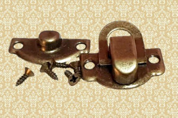 Μεταλλικό Κούμπωμα Αντικέ Σετ 2τμχ DF00350