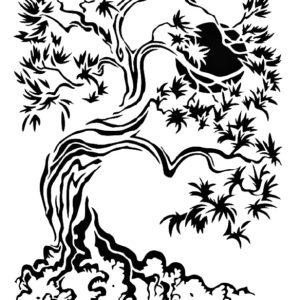 Στένσιλ Decofoam S014 - 30x21cm- Δέντρο