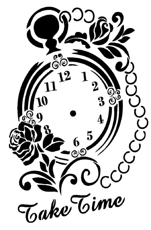 Στένσιλ Decofoam S062 - 35x25cm - Take Time