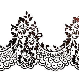 Στένσιλ Decofoam D-0102011 - 30x15cm