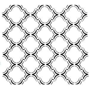 Στένσιλ Decofoam D-0102016 - 50x50cm