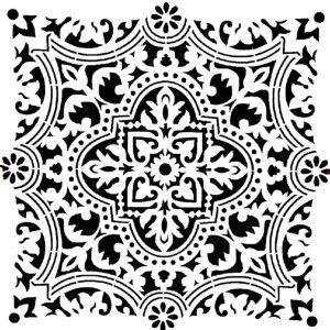Στένσιλ Decofoam D-0102017 - 30x30cm