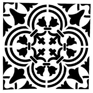 Στένσιλ Decofoam D-0102022 - 25x25cm