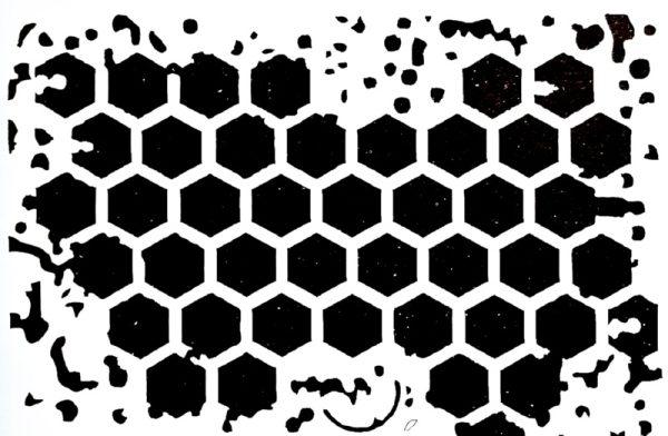 Στένσιλ Decofoam D-0102023 - 30x21cm