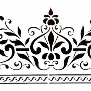 Στένσιλ Decofoam D-0102025 - 30x15cm