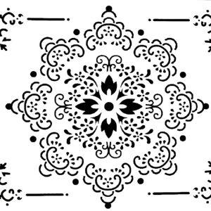 Στένσιλ Decofoam D-0102027 - 35x25cm