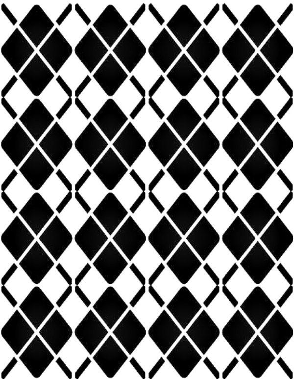 Στένσιλ Decofoam D-0102033 - 30x21cm