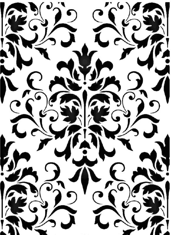 Στένσιλ Decofoam D-0102037 - 30x21cm